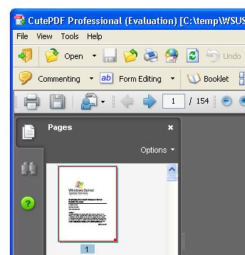 Solid Documents Blog: CutePDF Professional vs. Solid PDF ... Cutepdf