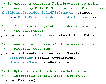 ShellPrintProvider sample code