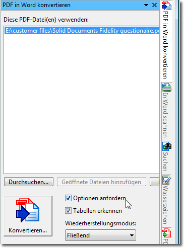konvertieren pdf in word