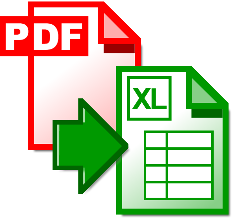 convert pdf form to excel