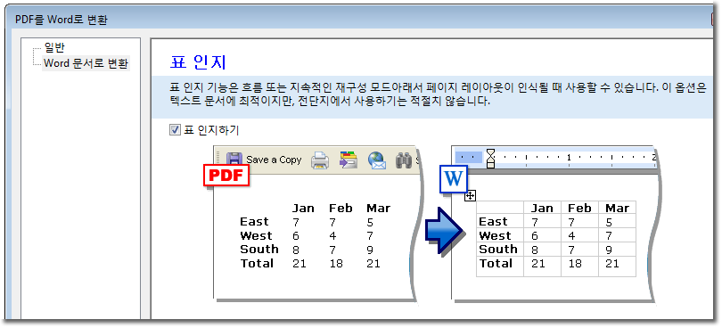 how to create a searchable database in word
