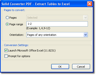 How to convert PDF to Excel for free
