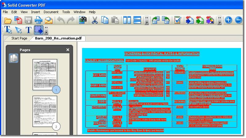PDF do Excel