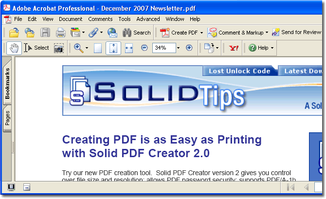 can printer program convert pdf to word document