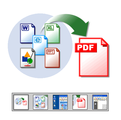"Click to launch ""Drag and Drop to Create PDF"" feature tour..."