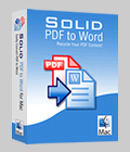 Solid PDF to Word for Mac - Free Download
