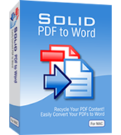 Solid PDF a Word per Mac
