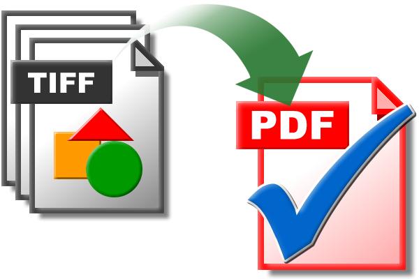 TIFF a PDF- Convertir archivos TIFF a PDF/A: Escanear a