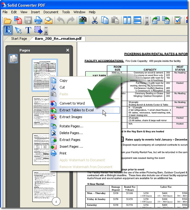 pdf to word 변환 프로그램