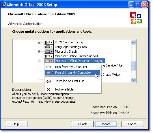 Converting Scanned Documents to Word (version 7 of products