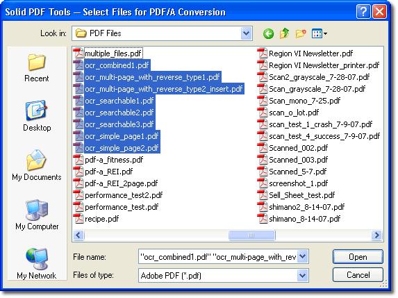 convert pdf to word automator