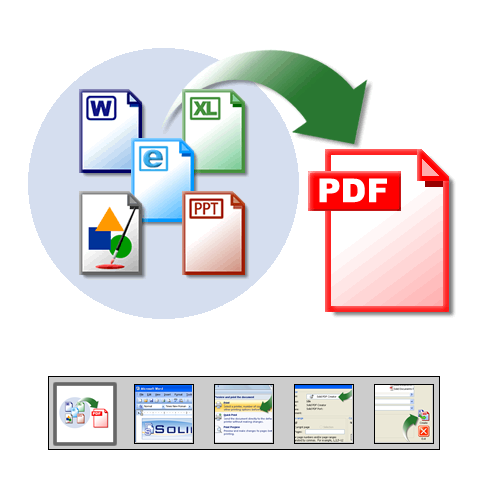 "Click to launch ""Easily Create PDF Documents "" feature tour..."