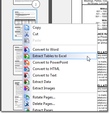 PDF to Excel Converter- PDF to Excel Converter: PDF to Word