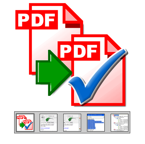 "Click to launch ""PDF to PDF/A"" feature tour..."