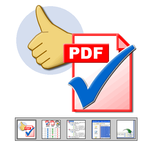 "Click to launch ""Validate PDF/A"" feature tour..."
